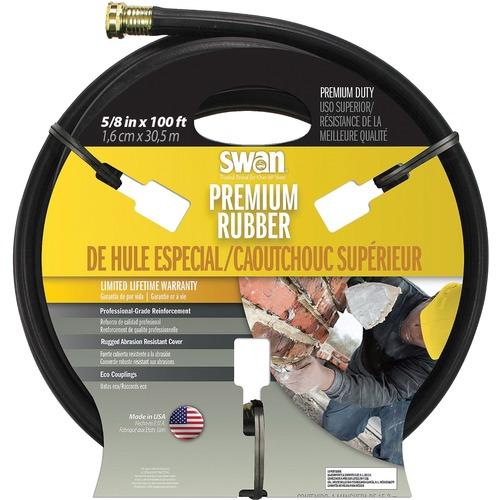"""SCN Swan MaxLite NJ415 Water Hose - 0.63"""" x 100 ft - Rubber, Brass"""