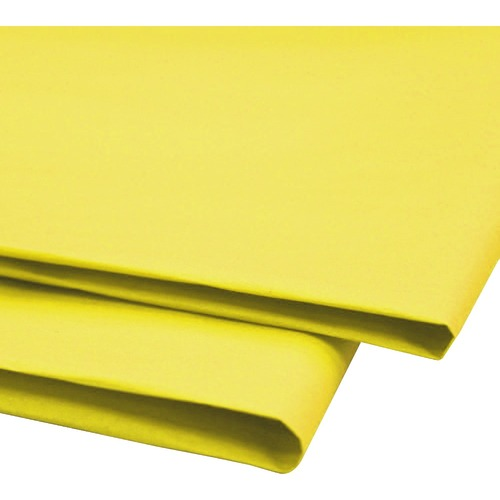 """NAPP 0601 Tissue Paper - Window, Gift-wrapping, Collage - 20"""" (508 mm)Width x 30"""" (762 mm)Length - 24 / Pack - Yellow"""
