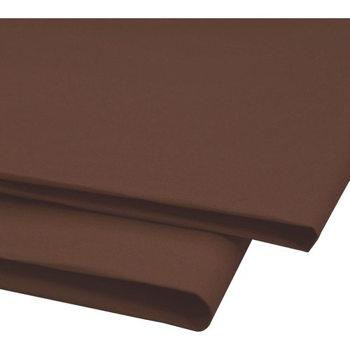 """NAPP 0601 Tissue Paper - Collage, Window, Gift-wrapping - 20"""" (508 mm)Width x 30"""" (762 mm)Length - 24 / Pack - Brown"""
