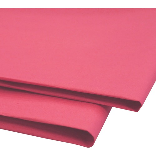 """NAPP 0601 Tissue Paper - Collage, Window, Gift-wrapping - 20"""" (508 mm)Width x 30"""" (762 mm)Length - 24 / Pack - Cerise"""