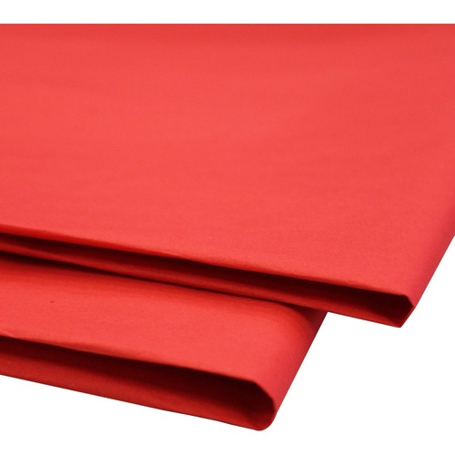 """NAPP 0601 Tissue Paper - Collage, Window, Gift-wrapping - 20"""" (508 mm)Width x 30"""" (762 mm)Length - 24 / Pack - Scarlet"""