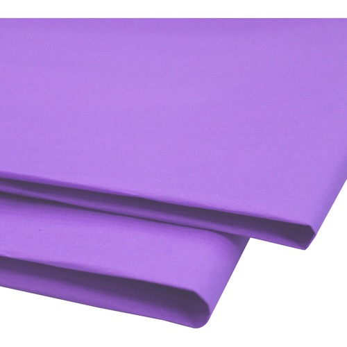 """NAPP 0601 Tissue Paper - Collage, Window, Gift-wrapping - 20"""" (508 mm)Width x 30"""" (762 mm)Length - 24 / Pack - Lilac"""
