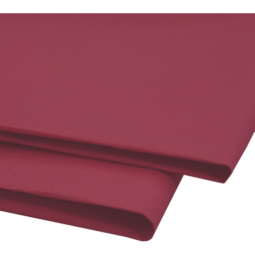"""NAPP 0601 Tissue Paper - Collage, Window, Gift-wrapping - 20"""" (508 mm)Width x 30"""" (762 mm)Length - 24 / Pack - Dubonnet"""