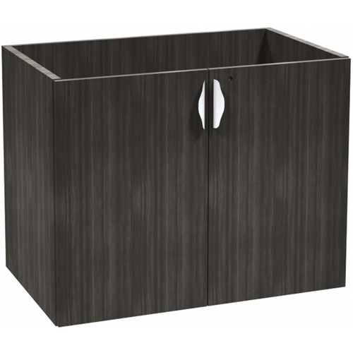 Heartwood Innovations Grey Dusk Laminate Desking Storage Cabinet
