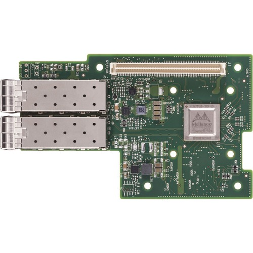Mellanox ConnectX-4 Lx EN MCX4421A-XCQN 10Gigabit Ethernet Card for Server - PCI Express 3.0 x8 - 2 Ports - Optical Fiber