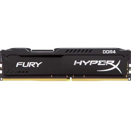 Kingston HyperX Fury RAM Module - 16 GB DDR4 SDRAM - CL18 - 1.20 V - Unbuffered - 288-pin - DIMM