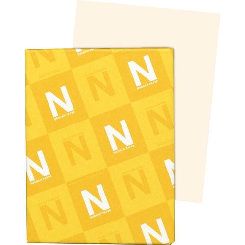 """Exact Inkjet, Laser Vellum Paper - Ivory - Letter - 8 1/2"""" x 11"""" - 67 lb Basis Weight - 250 / Pack - FSC"""