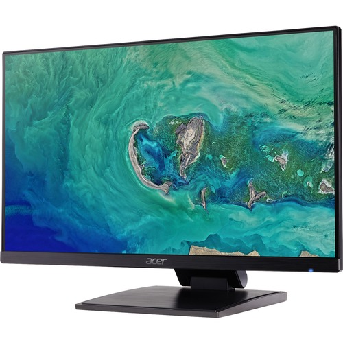 Acer UT241Y 60.5 cm 23.8inch LED LCD Monitor - 16:9 - 4 ms GTG - 1920 x 1080 - 16.7 Million Colours - 250 cd/mAnd#178; - Full HD - Speakers - HDMI - VGA - USB - Black -