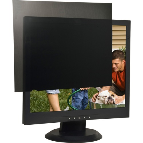 """Business Source 19"""" Monitor Blackout Privacy Filter Black - For 19""""LCD Monitor - 5:4 - Black"""