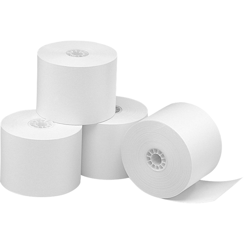 """Business Source Thermal Thermal Paper - White - 2 1/4"""" x 165 ft - 48 g/m² Grammage - Smooth - 3 / Pack"""