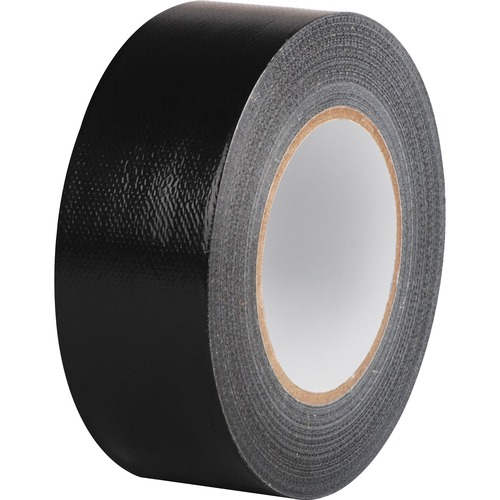 """Business Source General-purpose Duct Tape - 60 yd Length x 2"""" Width - 9 mil Thickness - 1 / Roll - Black"""