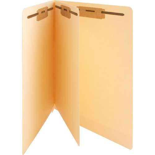"""Business Source 3/4"""" Expanding Medical File Folders - Letter - 8 1/2"""" x 11"""" Sheet Size - 3/4"""" Expansion - 2"""" Fastener Capacity - End Tab Location - 11"""