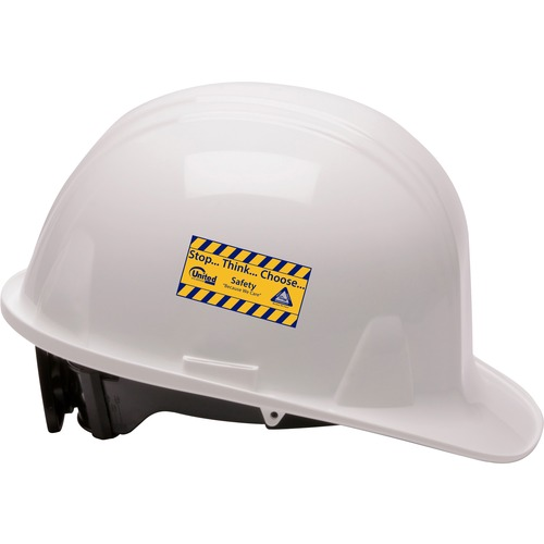 Pyramex S.P. 4 Point Cap-style Hard Hat - Low Profile, Ratchet, Reversible - Head Protection - Strap Closure - High-density Polyethylene (HDPE) Shell,