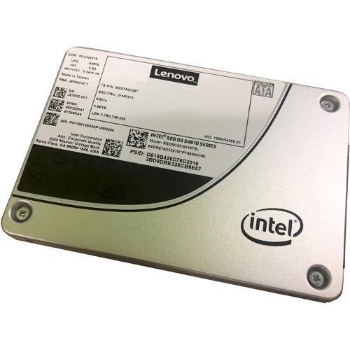 "Lenovo D3-S4610 960 GB Solid State Drive - SATA (SATA/600) - 2.5"" Drive - Mixed Use - 3.4 DWPD - 6144 TB (TBW) - Interna"
