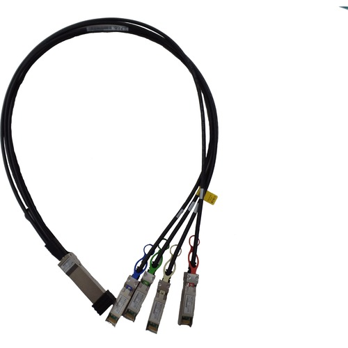 HPE 100GbE QSFP28 to 4x25GbE SFP28 1m Direct Attach Copper Cable