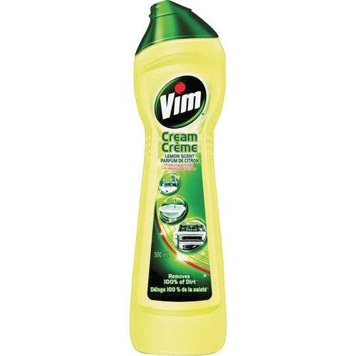 VIM Multipurpose Cream Cleaner, 500ml - Fresh Lemon Citrus Scent