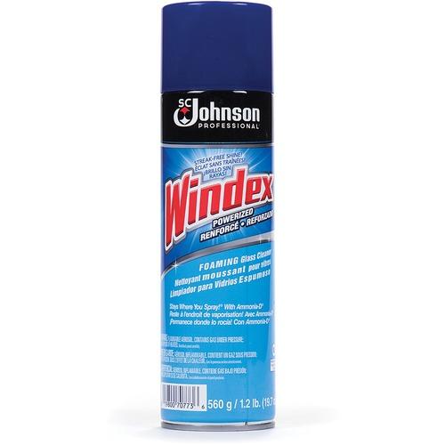 Windex® Foaming Glass Cleaner - Aerosol - 560 g - 1 Each