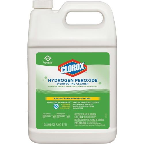 Clorox Hydrogen Peroxide Disinfecting Cleaner Liquid 1 Gal