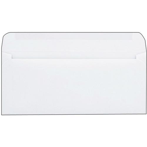 "Supremex SPX00036-Plain Commercial Envelopes - Commercial - #10 - 9 1/2"" Width x 4 1/8"" Length - 24 lb - Gummed - 500 / Box"