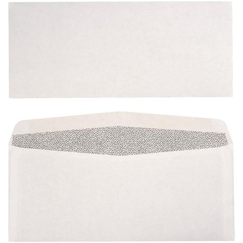 """Supremex SPX00037-Security Envelopes Plain - Security - #10 - 9 1/2"""" Width x 4 1/8"""" Length - 24 lb - 500 / Box - White Wove"""