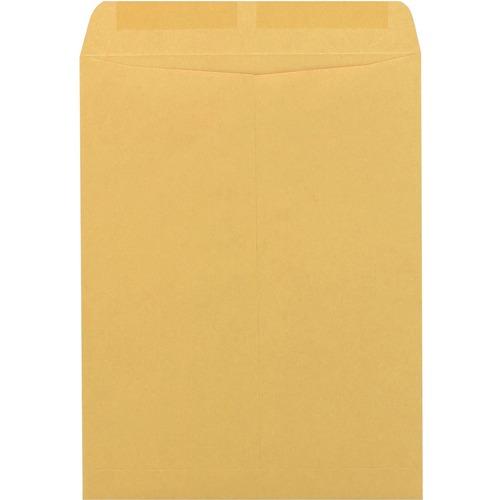 "Supremex SPX00193-Catalogue Envelopes 10"" x 13"" - Catalog - 24 lb - Gummed - Kraft - 500 / Box - Brown Kraft"