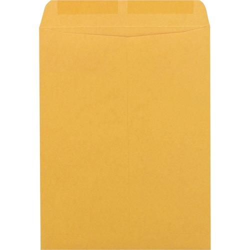 "Supremex SPX00679-Catalogue Envelopes 9-1/2"" x 14-3/4"" - Catalog - 24 lb - Gummed - Kraft - 500 / Box - Golden"
