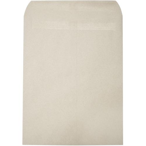 "Supremex SPX01023-Recycled Catalogue Envelopes 9"" x 12"" - Catalog - 12"" Width x 9"" Length - 24 lb - Kraft - 100 / Pack - Natural Kraft"
