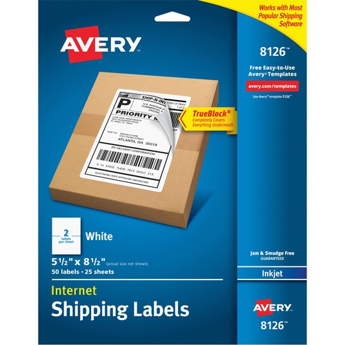 Discount ave8126 avery 8126 avery shipping labels with trueblock discount ave8126 avery 8126 avery shipping labels with trueblock technology shipping label reheart Choice Image