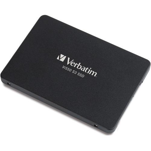 """Verbatim 256GB Vi550 SATA III 2.5"""" Internal SSD - 560 MB/s Maximum Read Transfer Rate - 3 Year Warranty"""