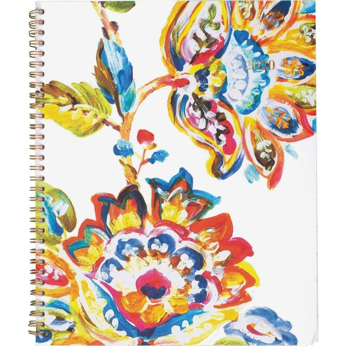 At-A-Glance Hannah Weekly/Monthly Planner - Large Size - Julian Dates - Weekly, Monthly - 1 Year - January till December - 1 Week, 1 Month Double Page