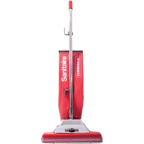 "BISSELL TRADITION SC899G Upright Vacuum Cleaner - 4.50 gal - Bagged - Filter - 16"" Cleaning Width - Carpet - 50 ft Cable Length - 7 A - Red"