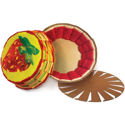 """Roylco Basket Base - Decoration, Crafting - Recommended For 5 Year x 9"""" (228.60 mm)Diameter - 24 / Pack"""