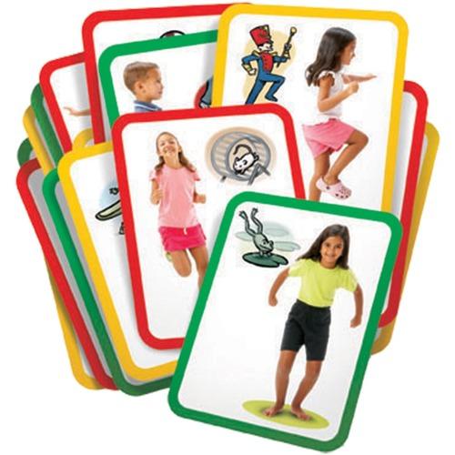Roylco Gross Motor Exercise Card - Skill Learning: Photography - 3+ - 16 / Set