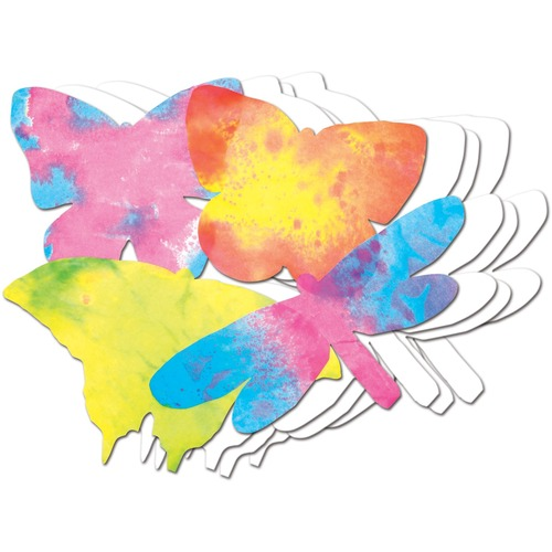 """Roylco Colour Diffusing Butterflies - Learning Theme/Subject - 7"""" (177.8 mm) Width x 11"""" (279.4 mm) Length - 48 / Pack"""