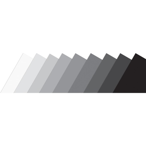 """Roylco Grayscale Paper - Multipurpose - Recommended For 4 Year - 8.50"""" (215.90 mm)Width x 11"""" (279.40 mm)Length - 108 / Pack - Assorted"""