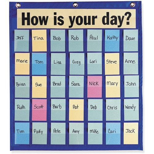 Pacon Educational Pocket Chart - Theme/Subject: Learning - 1 Each