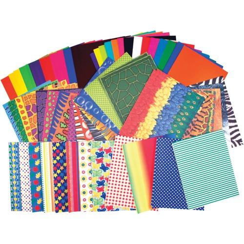 Roylco Preschool Paper Pack - Classroom, Craft - 176 / Pack