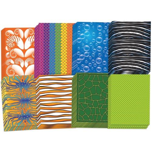 "Roylco Sealife Design Paper - Education - 8.50"" (215.90 mm)Width x 11"" (279.40 mm)Length - Sealife Design - 40 / Pack"