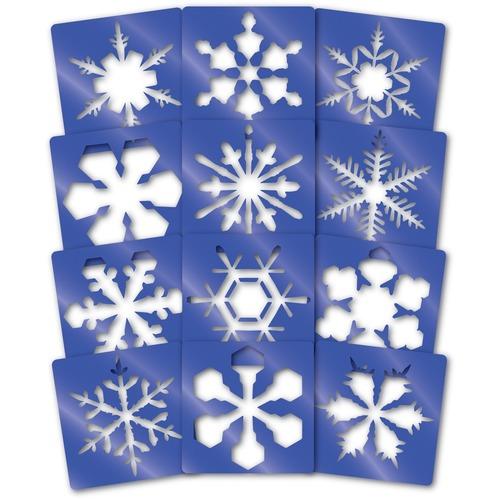 """Roylco Stencil - Snowflake - 8"""" (203.20 mm)8"""" (203.20 mm)"""