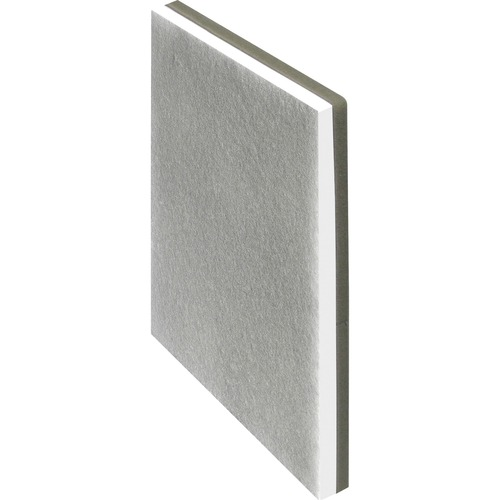 """Lorell Replacement Premium HEPA Filter - HEPA/Activated Carbon - For Air Purifier - Remove Odor, Remove Dust - 11.75"""" (298.45 mm) Height x 1.40"""" (35.56 mm) Width x 12.10"""" (307.34 mm) Depth - Carbon"""