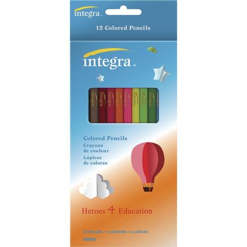 Integra Colored Pencil - 12 / Pack