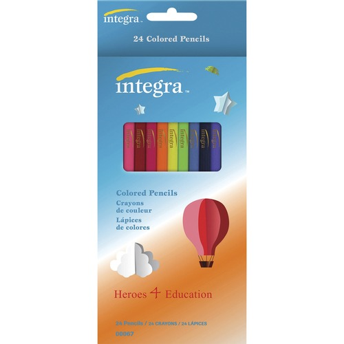 Integra Colored Pencil - 24 / Pack