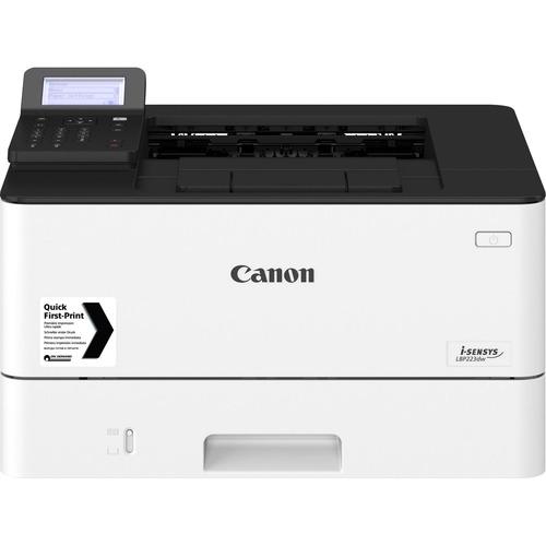 Canon i-SENSYS LBP220 LBP223dw Laser Printer - Monochrome - 33 ppm Mono - 1200 x 1200 dpi Print - Automatic Duplex Print - 350 Sheets Input - Gigabit Ethernet - Wire