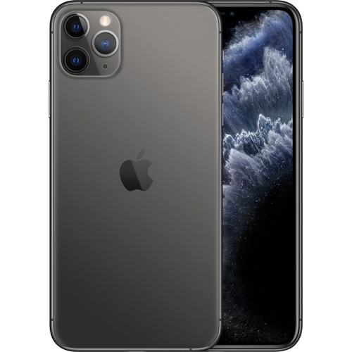Apple iPhone 11 Pro Max A2218 64 GB Smartphone - 16.5 cm 6.5And#34; Full HD Plus - 4 GB RAM - iOS 13 - 4G - Space Gray
