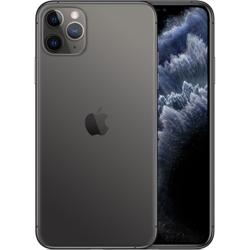 Apple iPhone 11 Pro A2215 512 GB Smartphone - 14.7 cm 5.8And#34; Full HD Plus - 4 GB RAM - iOS 13 - 4G - Space Gray - Bar - Dual-core 2 Core 2.65 GHz, Quad-core 4 Cor