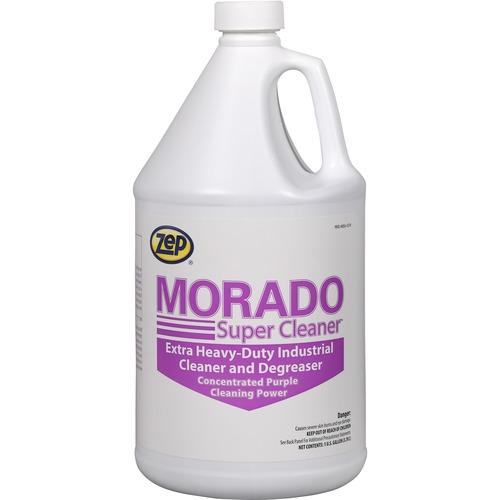 Zep Morado Super Cleaner - Concentrate Liquid - 128 fl oz (4 quart) - 1 Each - Purple, Clear