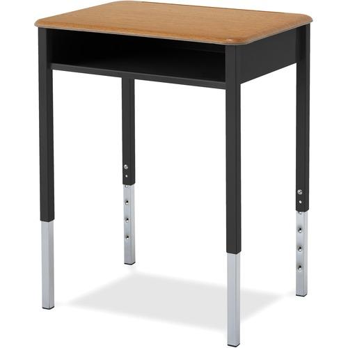 "ALUMNI Honor Roll Table Desk - Square Leg Base - 4 Legs x 24"" Table Top Width x 18"" Table Top Depth"