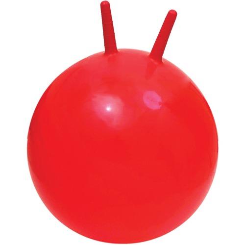 360 Athletics Economy Jumping Ball - Red - Polyvinyl Chloride (PVC)