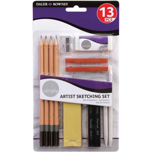 Dixon Daler-Rowney Simply Artist Sketching Set - 1 / Set