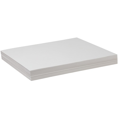 Pacon Drawing Sheet - 100 Sheets - Acid-free, Recyclable - 100 / Pack